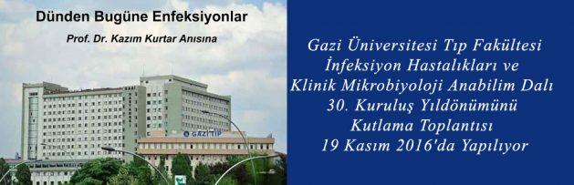 Gazi Üniversitesi Tıp Fakültesi İnfeksiyon Hastalıkları ve Klinik Mikrobiyoloji Anabilim Dalı 30