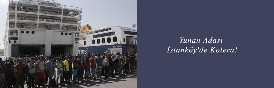 Yunan Adası İstanköy'de Kolera