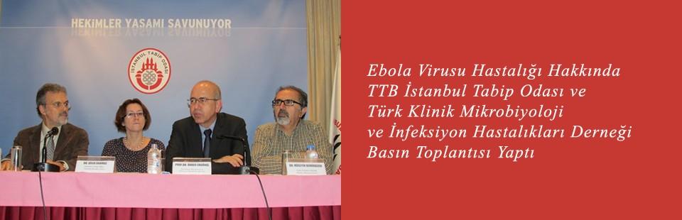 EVH Hakkında TTB İTO ve Klimik Derneği Basın Toplantısı Yaptı