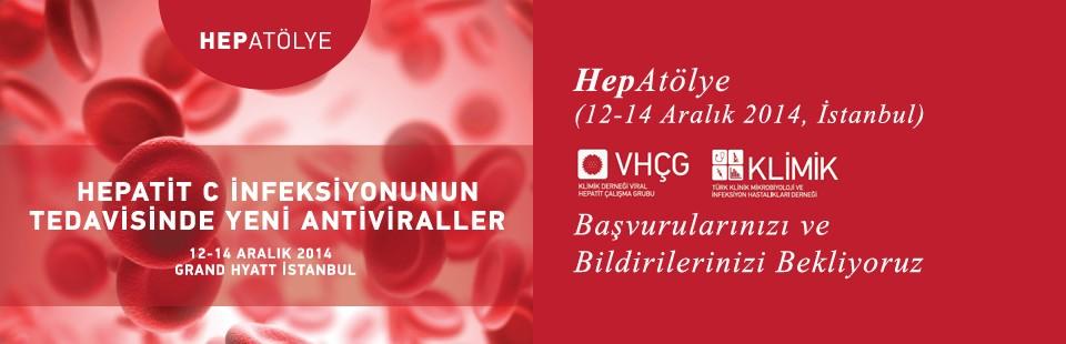 HepAtölye (12-14 Aralık 2014, İstanbul) Başvurularınızı ve Bildirileriniz Bekliyoruz
