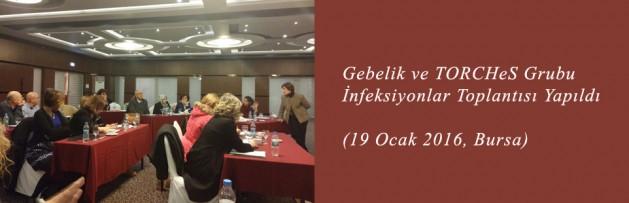 Gebelik ve TORCHeS Grubu İnfeksiyonlar (19 Ocak 2016, Bursa) Toplantısı Yapıldı