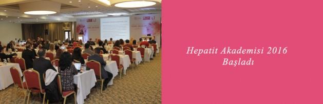 Klimik Hepatit Akademisi 2016 Başladı