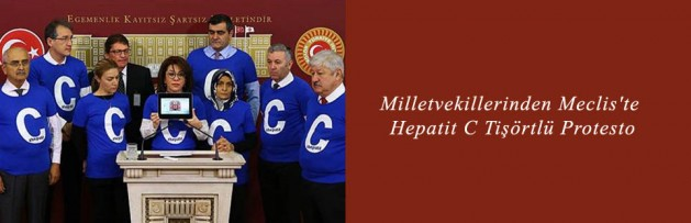 Milletvekillerinden Meclis'te Hepatit C Tişörtlü Protesto