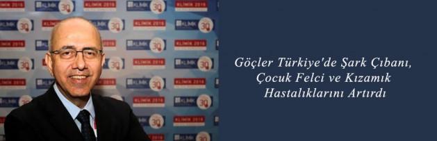 Göçler Türkiye'de Şark Çıbanı, Çocuk Felci ve Kızamık Hastalıklarını Artırdı