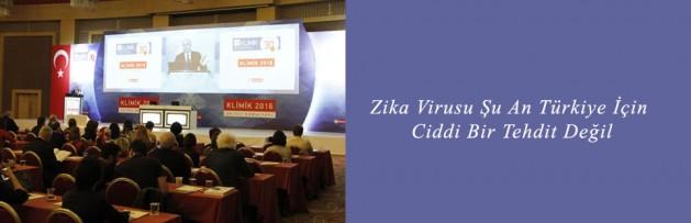 Zika Virusu Şu An Türkiye için Ciddi Bir Tehdit Değil
