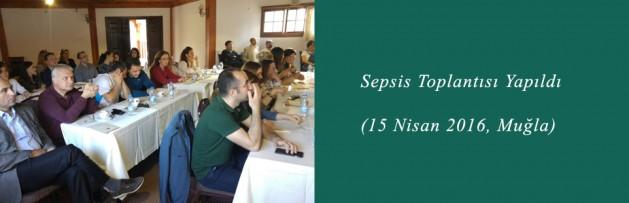 Sepsis (15 Nisan 2016, Muğla) Toplantısı Yapıldı