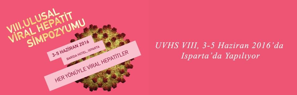 UVHS VIII, 3-5 Haziran 2016'da Isparta'da Yapılıyor2
