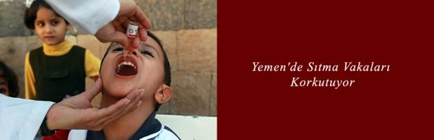 Yemen'de Sıtma Vakaları Korkutuyor