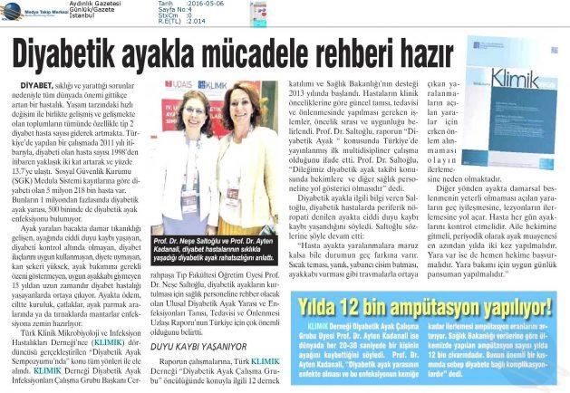 Aydınlık_Gazetesi-DİYABETİK_AYAKLA_MÜCADELE_REHBERİ_HAZIR-06.05.2016 (1)
