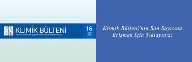 Klimik Bülteni'nin Son Sayısı (16 Mayıs 2016) Yayımlandı