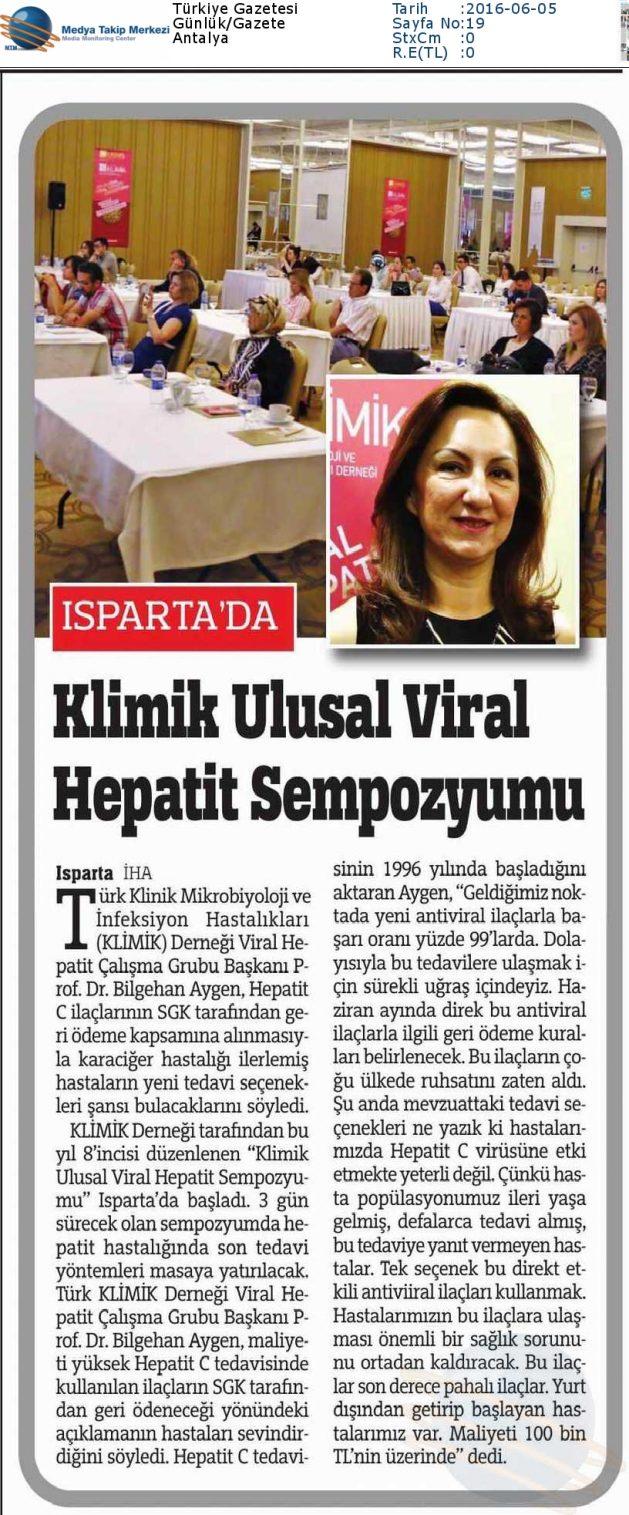 Türkiye_Gazetesi-KLİMİK_ULUSAL_VİRAL_HEPATİT_SEMPOZYUMU-05.06.2016