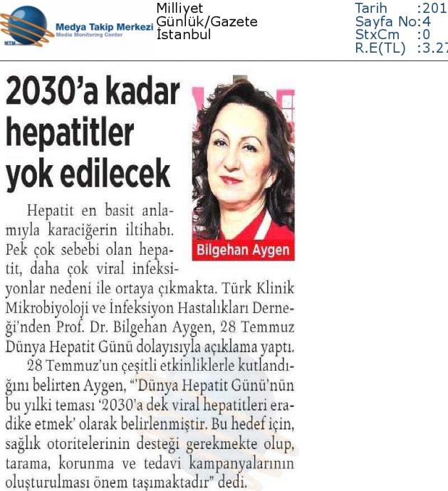 Milliyet_29_Temmuz_2016 (2030_A_KADAR_HEPATİTLER_YOK_EDİLECEK)
