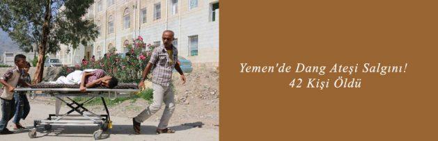 Yemen'de Dang Ateşi Salgını 42 Kişi Öldü