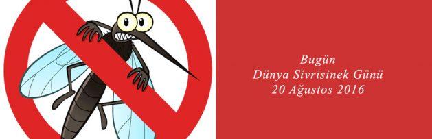 Bugün 20 Ağustos 2016 Dünya Sivrisinek Günü