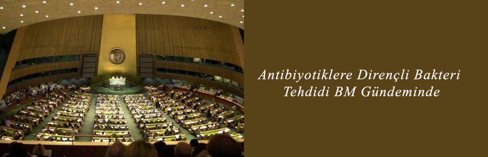 Antibiyotiklere Dirençli Bakteri Tehdidi BM Gündeminde