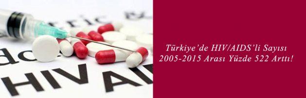 Türkiye'de HIV AIDS'li Sayısı 2005-2015'te Yüzde 522 Arttı!
