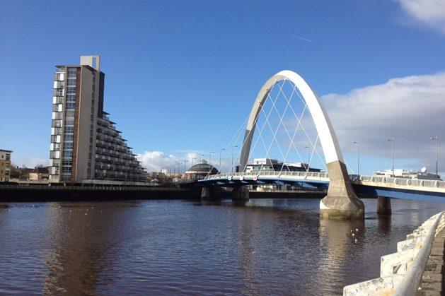 Millenium Bridge%2c Glasgow_rev