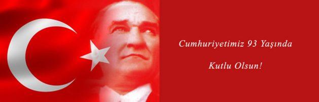 Türkiye Cumhuriyeti 93 Yaşında 2