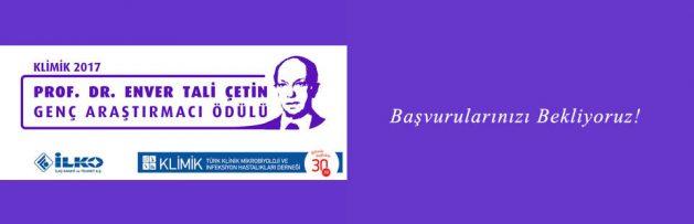 KLİMİK Genç Hekimleri Prof Dr Enver Tali Çetin Genç Araştırmacı 2017 Ödülü İçin Başvurmaya Davet Ediyor