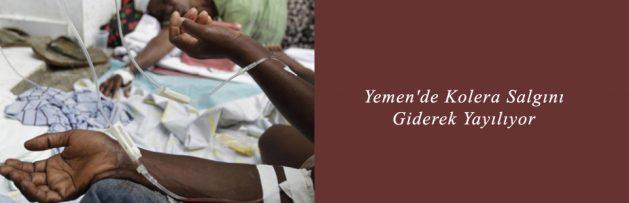 Yemen'de Kolera Salgını Giderek Yayılıyor