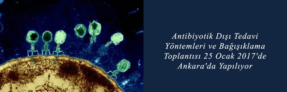 Antibiyotik Dışı Tedavi Yöntemleri ve Bağışıklama Toplantısı 25 Ocak 2017'de Ankara'da Yapılıyor 1